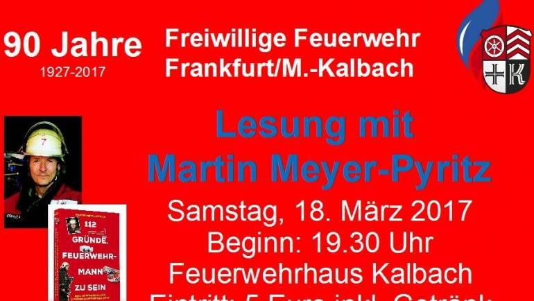 <Center>Lesung mit Martin Meyer- Pyritz</Center>