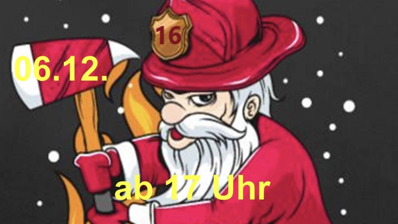 Nikolaus bei der Feuerwehr Kalbach
